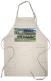 Oceanport, New Jersey - Monmouth Park Race Track Scene Apron Apron