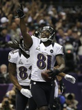 Super Bowl XLVII: Ravens vs 49ers - Anquan Boldin Photographic Print by Matt Slocum