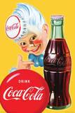 Coca Cola Sprite Boy Posters