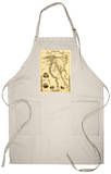 Egypt and Arabia - Panoramic Map Apron Apron