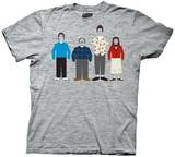 Seinfeld - Cast Outline T-Shirt