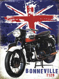 Bonneville T120 Tin Sign