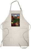 Pikes Peak from Garden of the Gods, Colorado Apron Apron