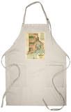 Rhode Island - Panoramic Map Apron Apron
