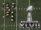 Super Bowl XLVII: Ravens vs 49ers Fotografisk trykk av Tim Donnelly