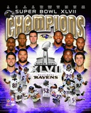 Baltimore Ravens Super Bowl XLVII Champions Composite Photo