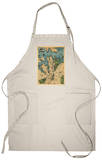 Sydney, Australia - Panoramic Map Apron Apron