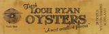 Lock Ryan Oysters Znak drewniany