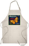 Mariposa Apple Label - San Francisco, CA Apron Apron