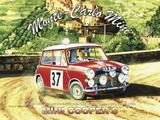 Monte Carlo Mini Plaque en métal par Trevor Mitchell