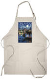 Orlando, Florida - Skyline at Night Apron Apron