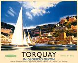 Torquay Tin Sign