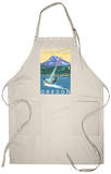 Hood River, OR - Wind Surfers & Kite Boarders Apron Apron