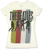 Juniors: The Beatles - Standing Group T-Shirts