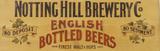 Notting Hill Brewery & Co Træskilt
