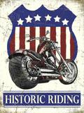 Historic Riding Plakietka emaliowana