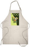 Visit the Zoo, Tree Frog Scene Apron Apron