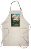 Paradise Inn, Mt. Rainier National Park, Washington Apron Apron