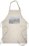 Orville Wright on First Flight at 120 feet Photograph - Kitty Hawk, NC Apron Apron