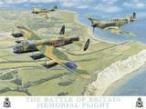 Battle of Britain memorial Plakietka emaliowana