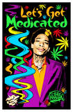 Wiz Khalifa - Let's Get Medicated Pôsters