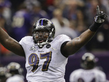 Super Bowl XLVII: Ravens vs 49ers - Arthur Jones Photographic Print by Marcio Sanchez
