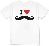 I Heart Mustahces Shirts