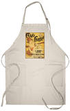 Champagne, France - E. Debray Champagne Advertisement Apron Apron