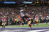Super Bowl XLVII: Ravens vs 49ers - Anquan Boldin Photographic Print by Ben Liebenberg