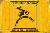 Blue Ridge Parkway Blechschild