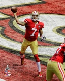 Colin Kaepernick Super Bowl XLVII Action Photo