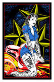 Tattoo Girl Pin-up Prints