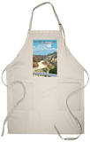 Badlands National Park, South Dakota - Road Scene Apron Apron