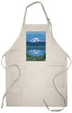 Mount Rainier, Reflection Lake Apron Apron