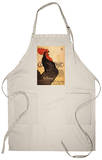 Paris, France - Periodical Cocorico Rooster Apron Apron