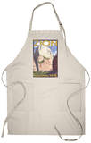 View of the Great White Throne, Zion National Park, Utah Apron Apron