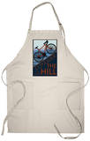Conquer the Hill - Mountain Bike Apron Apron