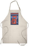 San Francisco, California - Golden Gate Bridge Apron Apron