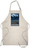 Seattle, Washington Bigfoot Apron Apron