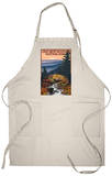 Great Smoky Mountains - Waterfall, c.2009 Apron Apron