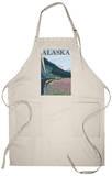 Alaska Railroad and Fireweed, Alaska Apron Apron