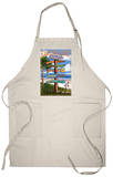 Hilton Head, South Carolina - Destination Signs Apron Apron