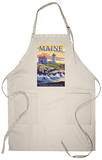 Nubble Lighthouse - York, Maine Apron Apron