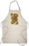 Ireland - Panoramic Map Apron Apron
