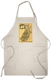 The Tribes of Israel in Palestine - Panoramic Map Apron Apron