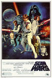 Star Wars - Episode IV New Hope - Classic Movie Poster Foto