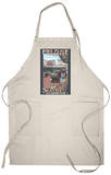 Pike Place Market, Seattle, Washington Apron Apron