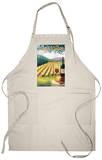 Napa Valley, California Wine Country Apron Apron