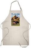 Badlands National Park, South Dakota - Bison Scene Apron Apron