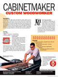 Cabinetmaker - Custom Woodworker - Educational Poster Photo